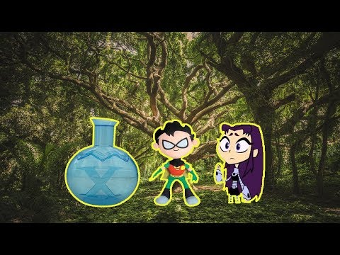 Teen Titans Go! Blackfire TRICKS Robin Part 1