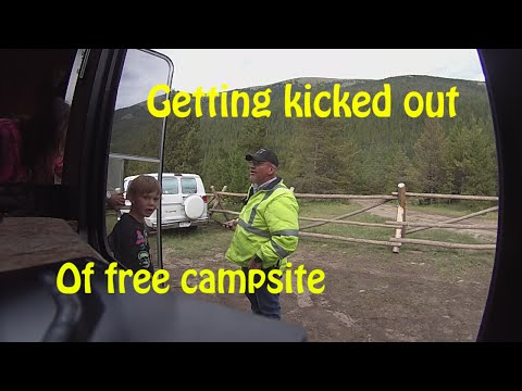 Getting Kicked Out of Free Campsite