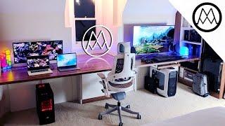 Ultimate $15,000 Gaming Setup Desk Tour 2017!
