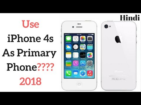 iPhone 4s 2018 Review | HINDI | Features of iphone 9.3.5 ios | Pratikvlog