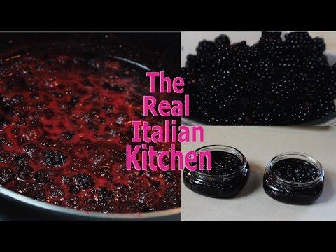 How to make Blackberry Jam - Real Italian Kitchen
