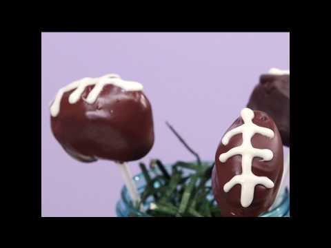 How to Make Football Cake Pops | MyRecipes