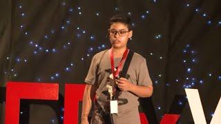 الفضاء: جوهرة في الوحل   Yassin Haitham   TEDxYouth@ISEE
