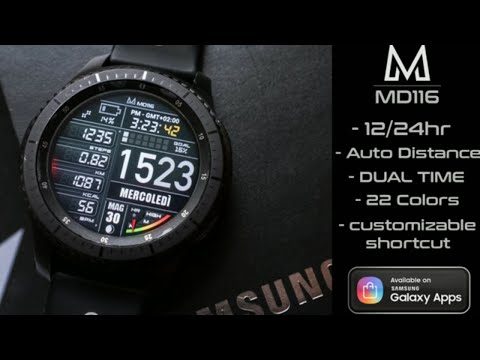 Gear S3 Watch Face Review (Watch Face Giveaway)