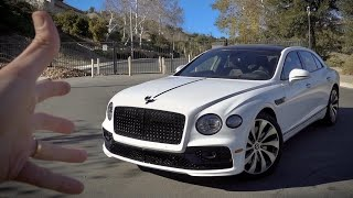 This is The Fastest Sedan on Earth! Bentley Flying Spur