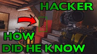 This Guy Is Hacking - Rainbow Six Siege - Behind The Scenes w/ Serenity17