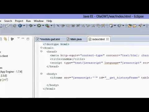 Introdução ao framework Google Web Toolkit com o Google App Engine