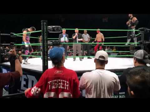Global Force Wrestling Footage - Orleans Arena, Las Vegas