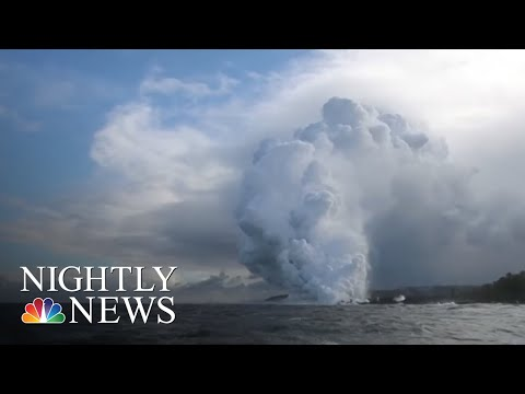 New Concerns As Hawaii Volcano Lava Nears Geothermal Plant | NBC Nightly News