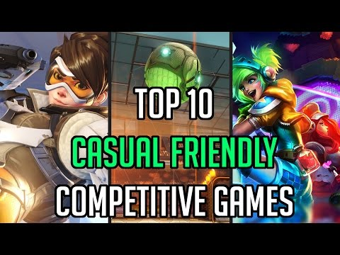 TOP 10 CASUAL FRIENDLY COMPETITIVE GAMES