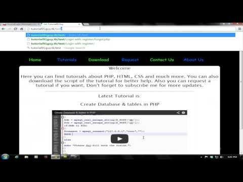 Register & Login:Forgot Password Form(3/3)