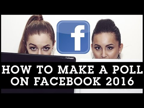 How To Make A Poll on Facebook 2016