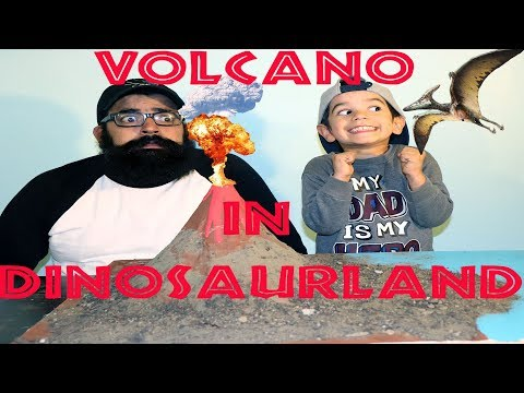 Science Experiment, Vinegar, Baking Soda Volcano