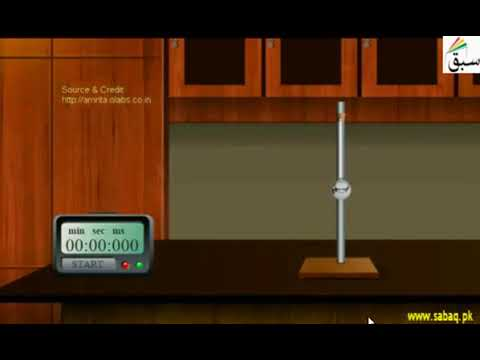 13 Prove that period of pendulum is independent of amplitude | Physics Practical | 11th +12th