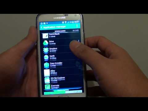 Samsung Galaxy S5: How to Force Stop an App