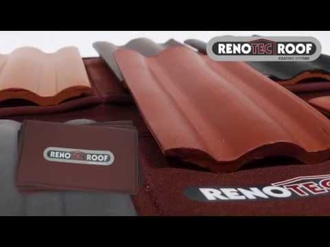 UK - RENOTEC roof coating, roof cleaning, roof tile restoration, repair
