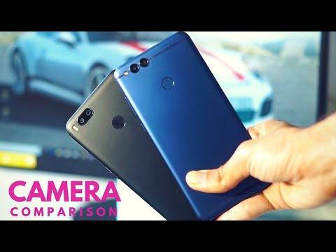 Honor 7X vs Mi A1 Camera Comparison!