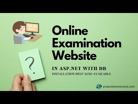 Online Examination / Quiz Portal / Website / Project in ASP.Net and C#.Net with timer and Sql Server