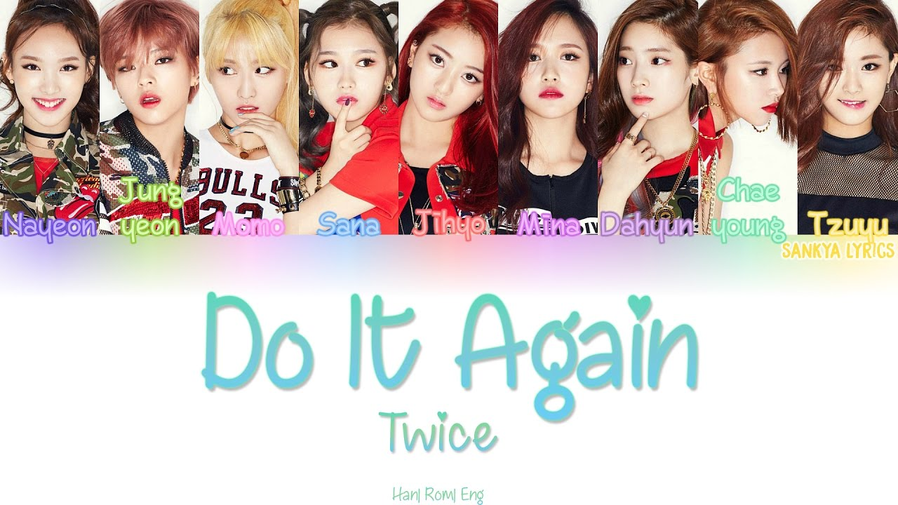 Do It Again - TWICE