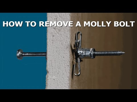 How to Remove Molly Bolt Anchors Without Damaging Drywall