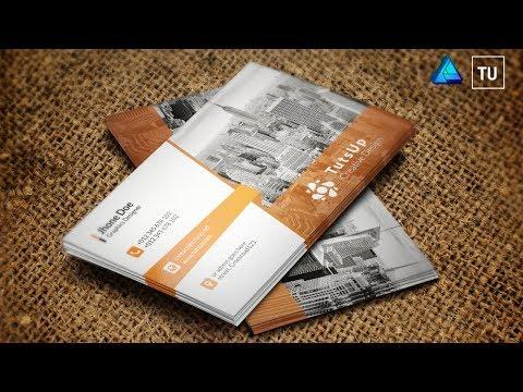 Make a Business Card Using Affinity Designer