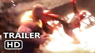 "AVENGERS INFINITY WAR ""Spidey Hits Thanos"" Trailer NEW (2018) Marvel Superhero Movie HD"