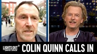 """Colin Quinn Brings Us the Latest on Mike """"The Situation"""" Sorrentino - Lights Out with David Spade"""