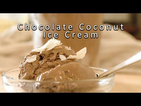Chocolate Coconut Ice Cream - Recipe