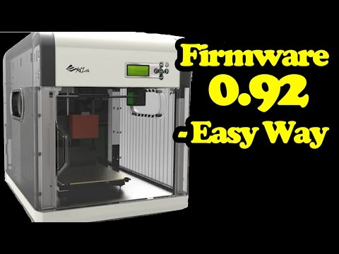 Flash Firmware Davinci 1.0 3D Printer - 0.92 Repetier