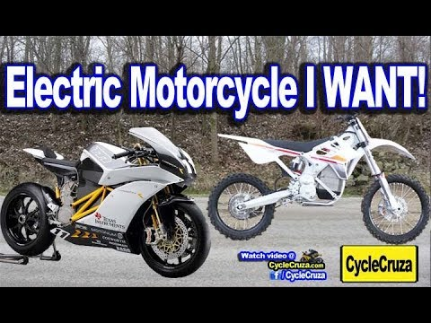 The Electric Motorcycle I WANT! | MotoVlog