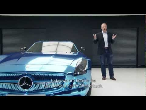 Mercedes-Benz TV: Questions about: SLS AMG Coupé Electric Drive – Part 1.