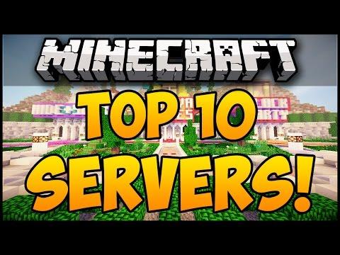 TOP 10 MINECRAFT SERVERS FOR MINECRAFT! (Minecraft Servers) (Minecraft Multiplayer Server)
