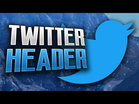 How To Make A Sleek Gaming Twitter Header!