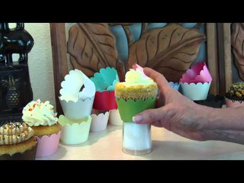 Cupcake Wrappers - No Fingers in the Frosting Assemby