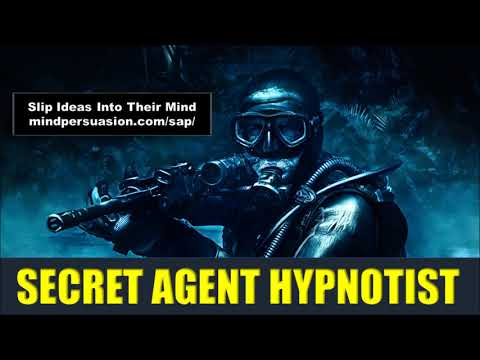 Secret Agent Hypnotist - Implant Ideas In Someone's Mind Covertly - Subliminal Affirmations
