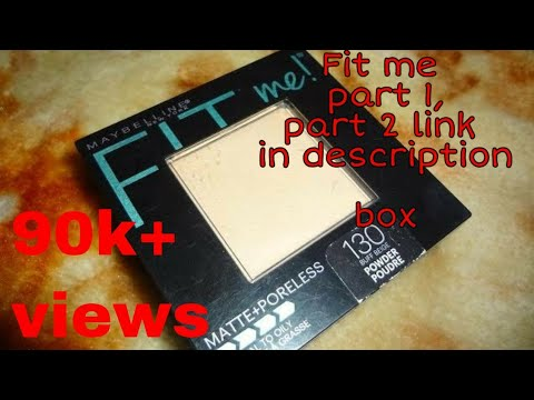 Maybelline fit me compact review | all about skin and makeup