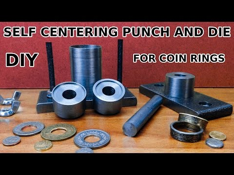 DIY Self Centering Punch And Die Set