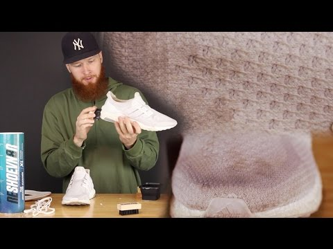 HOW TO CLEAN ALL WHITE SHOES!