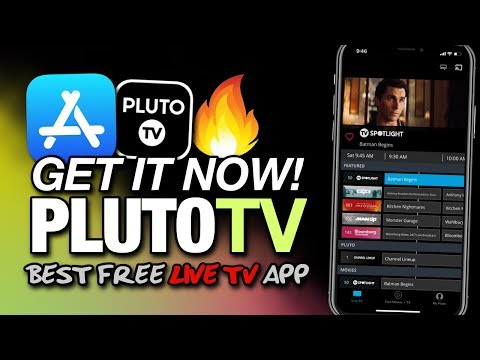 Get IT NOW! 100+ LIVE TV CHANNELS On iPhone - PLUTO TV On iOS 12 From The APP STORE!