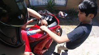 BIKERS HELPING OTHERS   RANDOM ACT OF KINDNESS   BIKERS ARE NICE [Ep. #19]