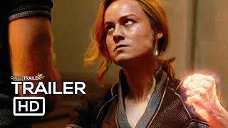Download CAPTAIN MARVEL Final Trailer (2019) Brie Larson, Marvel Superhero Movie HD Video