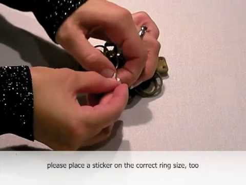 Tutorial: How to measure your ring size