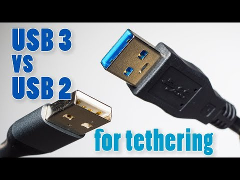 Testing USB 3 vs USB 2 Cables for Tethering ►It There a Difference?