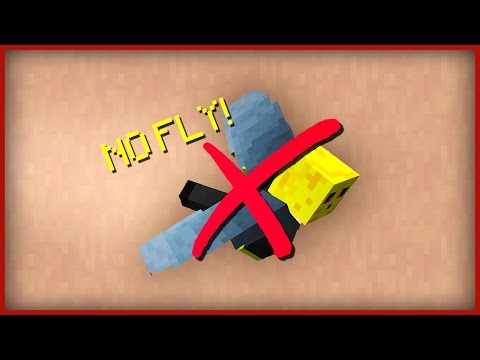 ☑ Minecraft: How to DISABLE FLYING in creative mode! (SECRET BUG!)