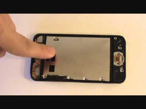 iPod Touch 4th Gen LCD Screen Glass Repair Tutorial | GadgetMenders.com