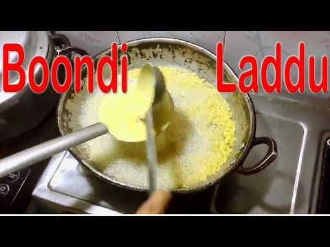 How to make Boondi Laddu at home, very simple method