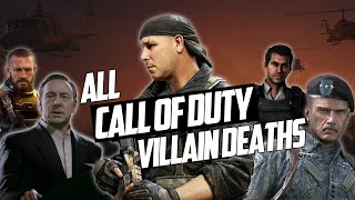All Antagonist/Villain Death Scenes from every Call of Duty game (2003-2017)