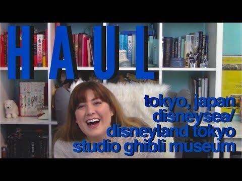 JAPAN HAUL DISNEYSEA/DISNEYLAND TOKYO/STUDIO GHIBLI MUSEUM