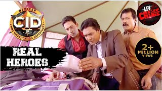 Will Abhijeet Be Able To Diffuse The Bomb?   C.I.D   सीआईडी   Real Heroes