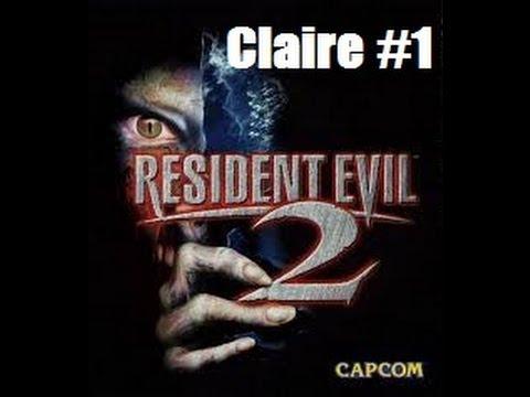 Resident Evil 2 Claire Part 1 Mr X